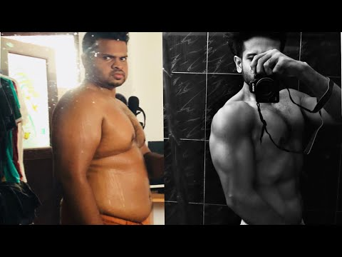 Weight loss Transformation | 50 KGS Weight loss | Fat loss Transformation in 1 YEAR