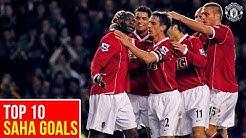 Top 10 Goals | Louis Saha | Manchester United