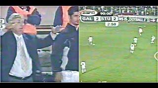 Final escandaloso : Galatasaray vs Sturm Graz (2000)