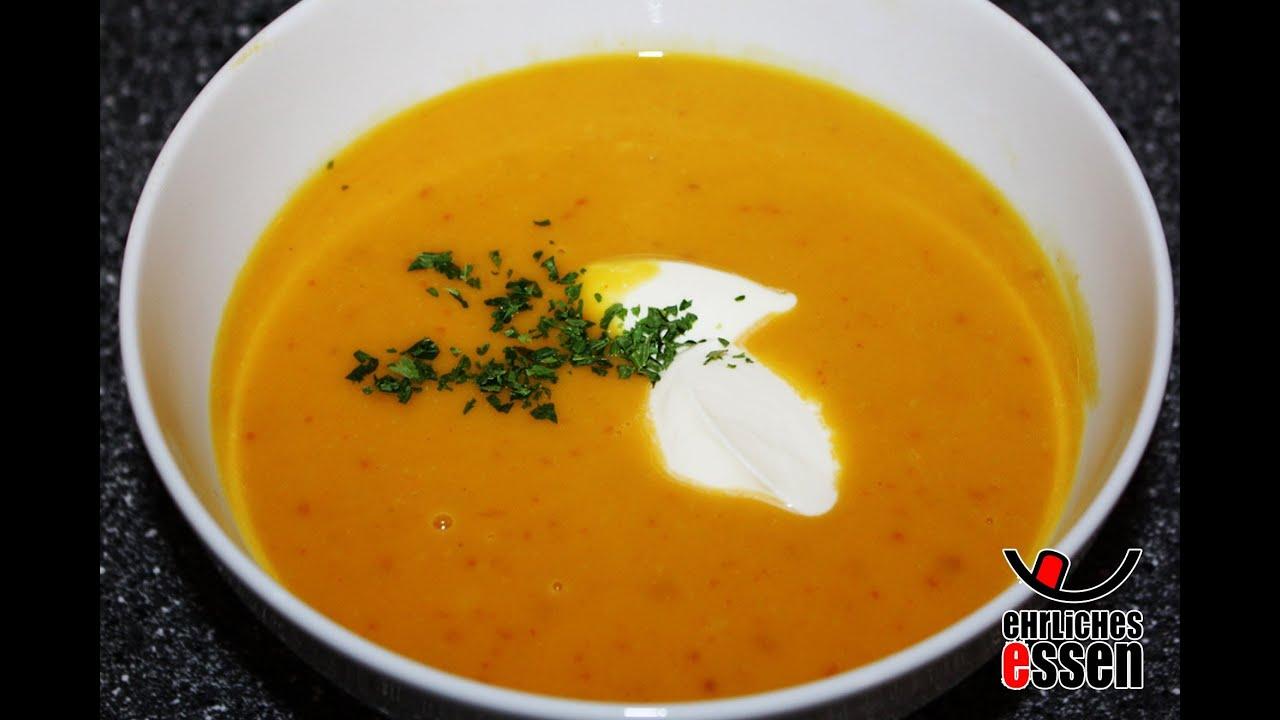 rezept: hokkaido kÜrbissuppe selber machen (halloween kürbis suppe ... - Kürbissuppe Rezept Chefkoch