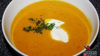 REZEPT: HOKKAIDO KÜRBISSUPPE SELBER MACHEN (Halloween Kürbis Suppe zu Hause selbst machen)