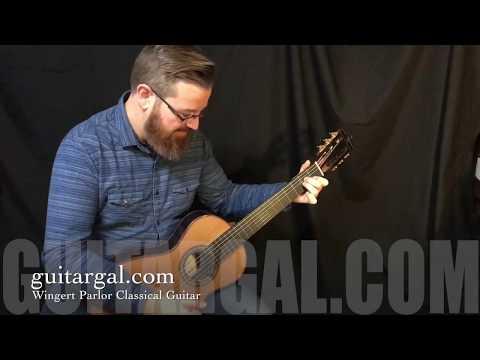 Wingert Parlor Classical Guitar at Guitar Gallery