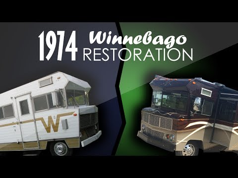 1974 Winnebago Indian Complete Restoration!