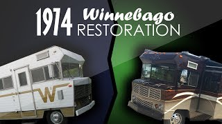 1974 Winnebago Indian Complete Restoration!