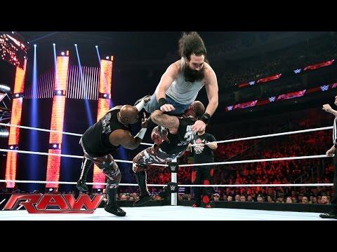 Dudley Boyz & Tommy Dreamer vs. Braun Strowman, Luke Harper & Erick Rowan: Raw – 30. November 2015