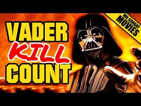 DARTH VADER Movie Kill Count Supercut