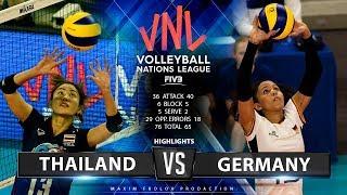 Thailand vs. Germany | Highlights | Women's VNL 2019