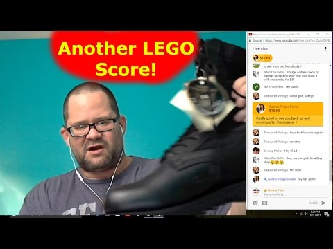Another nice LEGO haul - Saturday Garage Sale Live Show