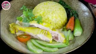 Cách nấu cơm gà Hải Nam cực ngon và đơn giản