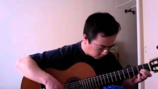 Tie a Yellow Ribbon Round the Ole Oak Tree (Fingerstyle Guitar)