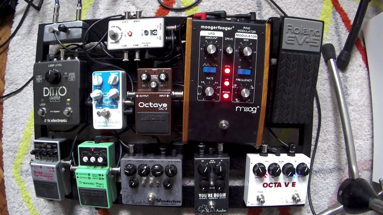 my pedalboard for bass guitar youtube. Black Bedroom Furniture Sets. Home Design Ideas