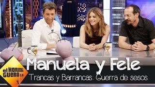 Manuela Velasco y Fele Martínez juegan a la