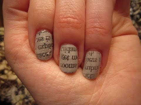 Newspaper Nails Experiment: Which Method Works Best