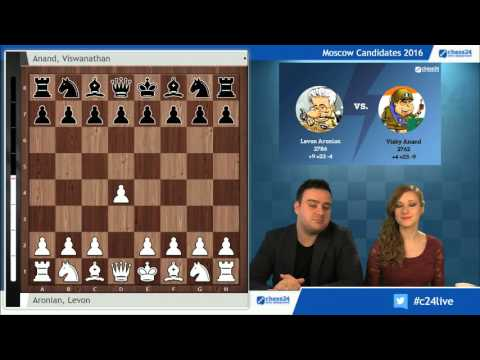 Moscow Candidates 2016 - Round 2 Commentary