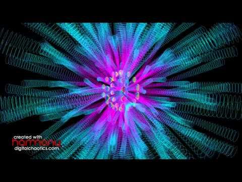 Dance of the Sugar Plum Fairy - Music by Tchaikovsky, Visual Music created with Harmony™