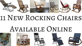 11 New Rocking Chairs Available Online