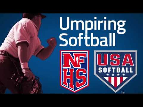 Umpiring Softball