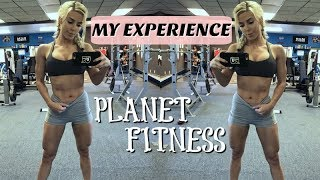 Working out at PLANET FITNESS | Meeting the Family