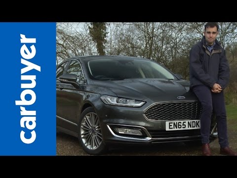 Ford Mondeo Vignale saloon 2016 review Carbuyer