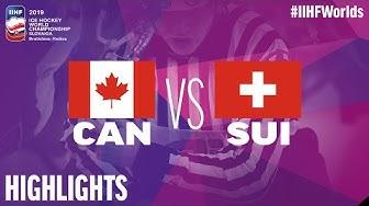 Canada vs. Switzerland - Quarter-final - Game Highlights - #IIHFWorlds 2019