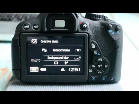 Canon T4i(650D) Guide to the Basic Modes on the Dial