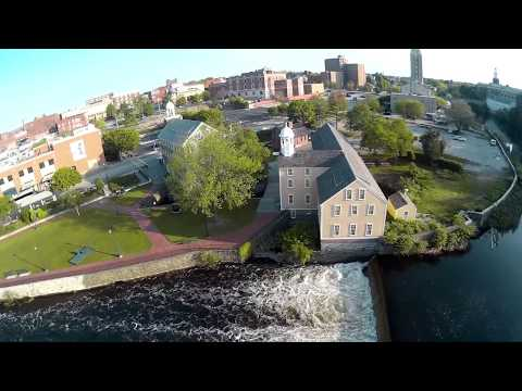 Historic Slater mill Pawtucket Rhode Island USA