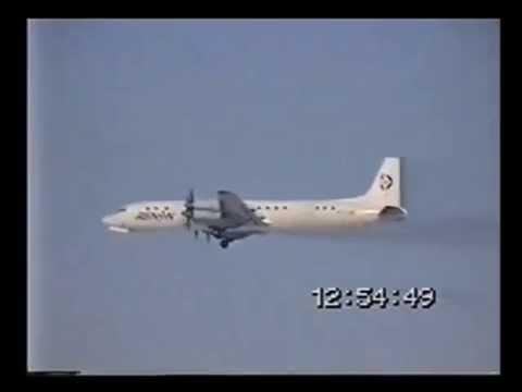 Renan IL 18 take off Budapest Ferihegy