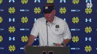 @NDFootball | Brian Kelly Post-Game Press Conference - Blue-Gold Game (2019)