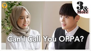 [EP.1-1] Boleh saya panggil awak Oppa?| 3&More | Blind Date of Adik Malaysia and Oppa Korea
