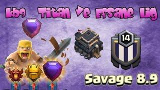 Köy Binası 9 - Titan Ve Efsane Lig Saldırıları | Clash Of Clans