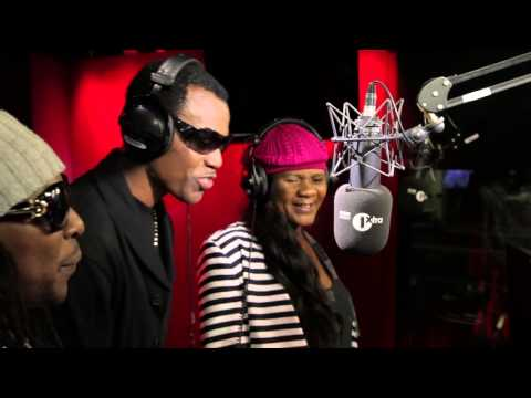 Wayne Wonder, Lady Saw & Frisco Kid freestyle on 1Xtra