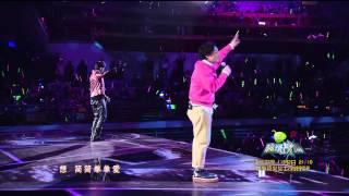 【爱你有我】2015江苏卫视新年演唱会——陈奕迅 、周杰伦——《简单爱》