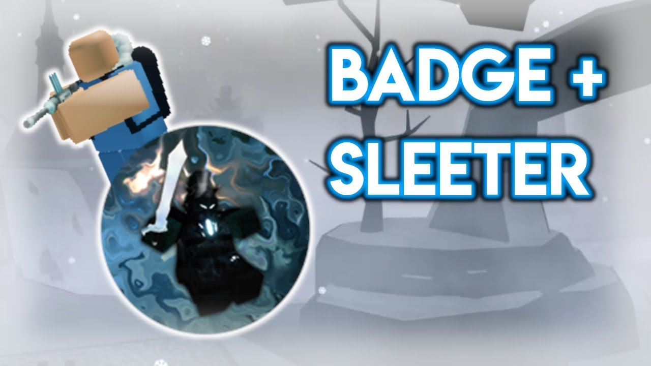 Winter Event 2019 Badge + Sleeter Tower? | Tower Battles [ROBLOX]