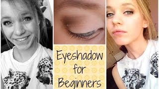All About Eyeshadow 101 (for beginners) Thumbnail