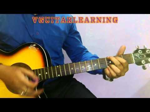 Har Ghadi Badal Rahi Hai Guitar Chords Tutorial - Kal Ho Na Ho VERY ...