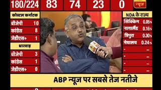 Karnataka Results: FULL COVERAGE FROM 9 AM to 10 AM | ABP News
