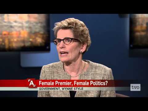 Kathleen Wynne: Female Premier, Female Politics?