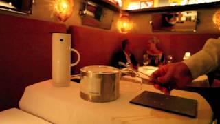 Molecular Gastronomy Liquid Nitrogen Dish @ The Bazaar Saam Dining Room