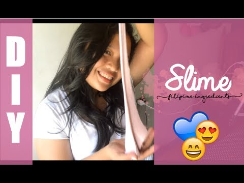 DIY: SLIME (FILIPINO INGREDIENTS) | EJCB ♡