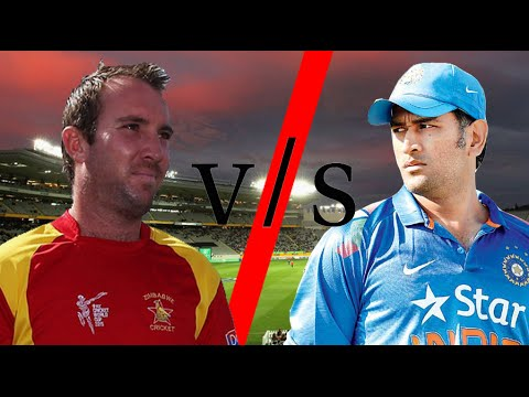 India vs Zimbabwe cricket match in ICC World Cup 2015