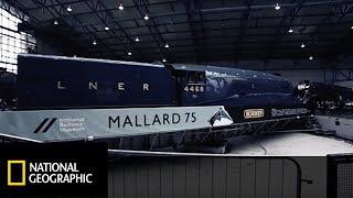 Mallard do dziś pozostał najszybszym parowozem na świecie [Potęga Techniki]