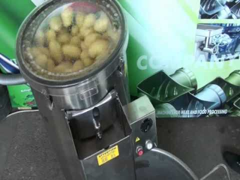 Работа картофелечистки CE 570