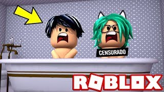 BABY LULY AND BABY DERANKITO ARE BATHED TOGETHER FOR THE FIRST TIME IN ROBLOX!😱