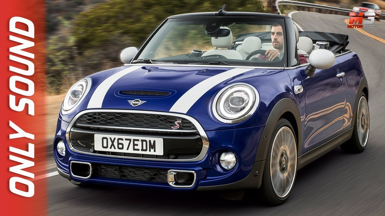 New Mini Cooper S Cabrio 2018 First Test Drive Only Sound