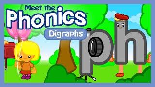 Meet the Phonics - Digraphs (FREE)   Preschool Prep Company