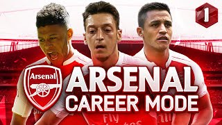 FIFA 16 Arsenal Career Mode - TRANSFER WINDOW! - Season 1 Episode 1