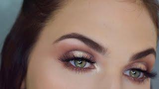Morphe 35G Halo Eyeshadow Makeup Tutorial