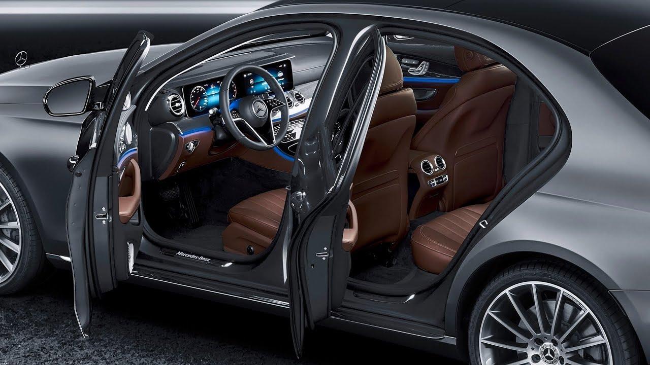 2021 mercedes-benz e-class - interior
