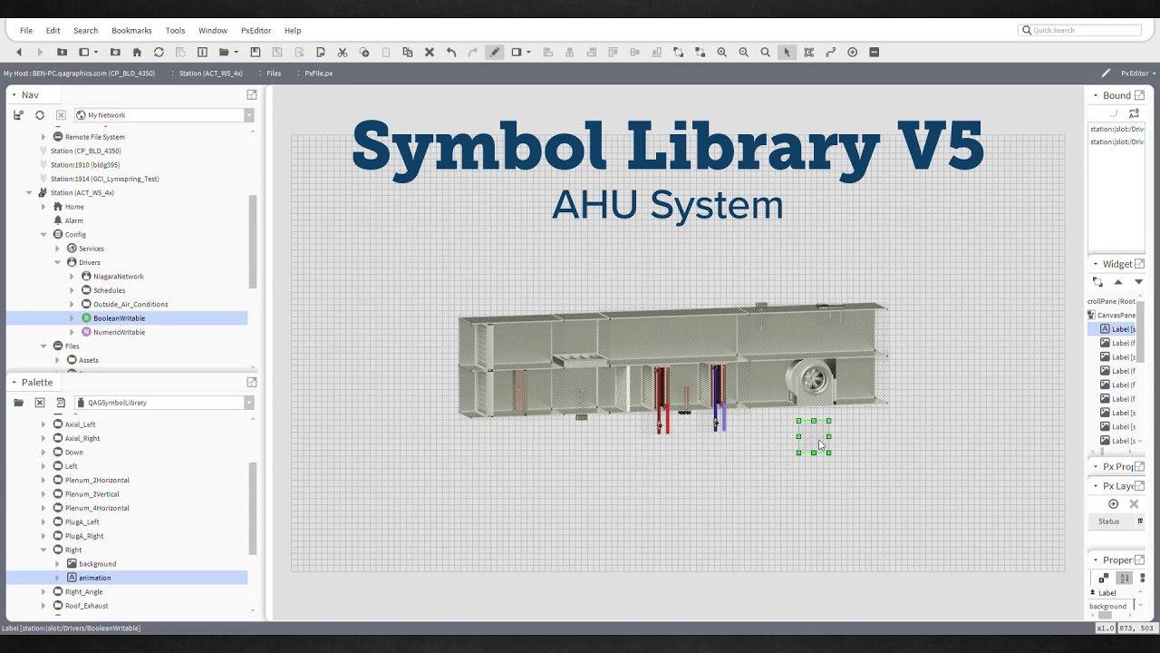 symbol library v5 how to ahu [ 1280 x 720 Pixel ]