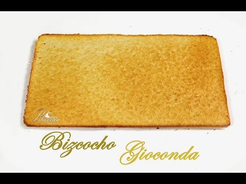 Bizcocho Gioconda  para: Tarta ópera, base de pasteles, semifríos.......
